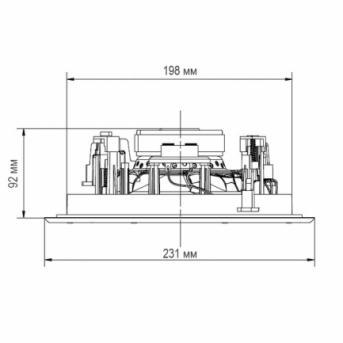 Встраиваемая акустическая система Heco INC 2602