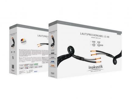 Акустический кабель Inakustik Exzellenz LS-40 2 x 3 m Banana Plug