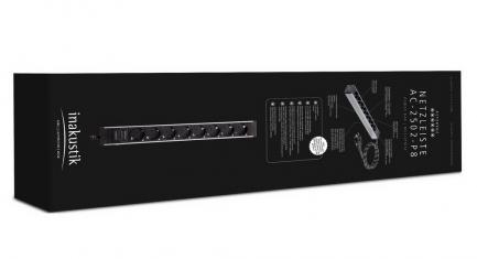 Сетевой фильтр Inakustik Referenz Power Bar AC-2502-P8 3,0m