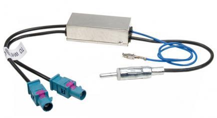 ISO-разъем INCAR ISO ANT-3 AMP