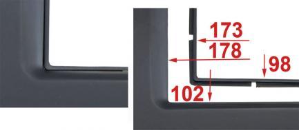 Рамка переходная Incar RFR-N28