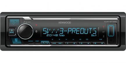 Автомагнитола Kenwood KMM-BT356