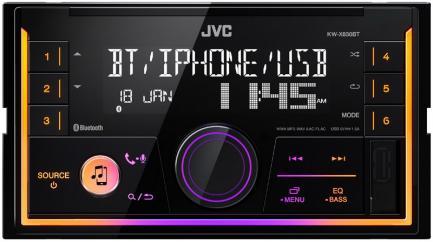 Автомагнитола JVC KW-X830BT